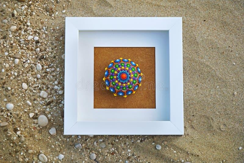 Όμορφος βράχος mandala στοκ εικόνα