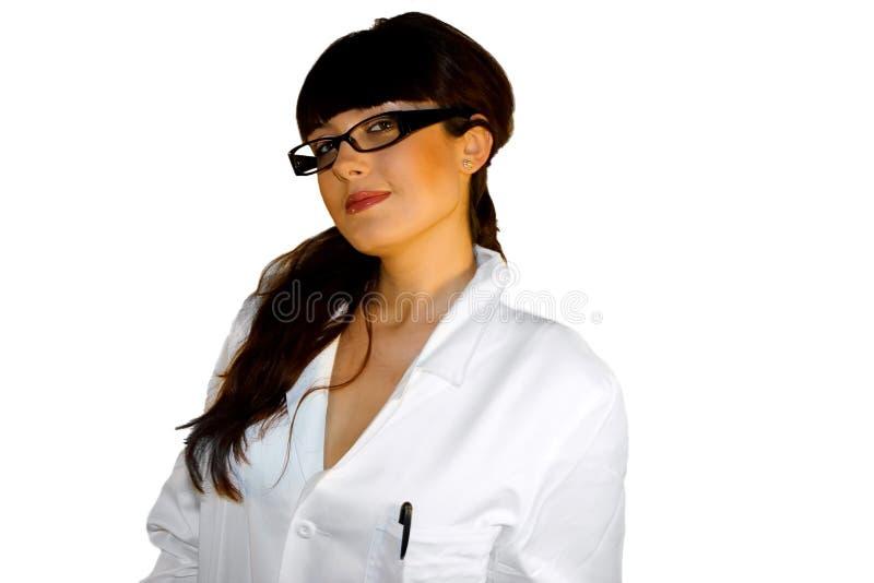 όμορφος γιατρός στοκ εικόνα με δικαίωμα ελεύθερης χρήσης