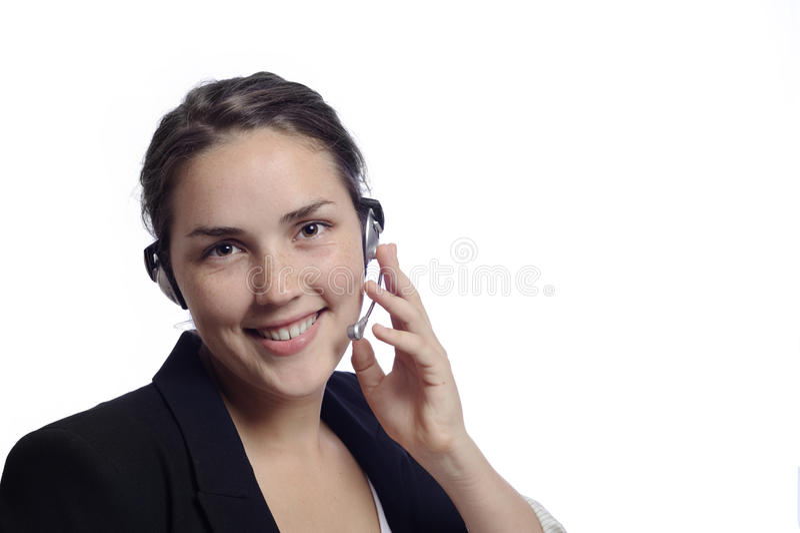 Download Όμορφος γραμματέας στοκ εικόνα. εικόνα από γέλιο, μοιχαλίδα - 13183889