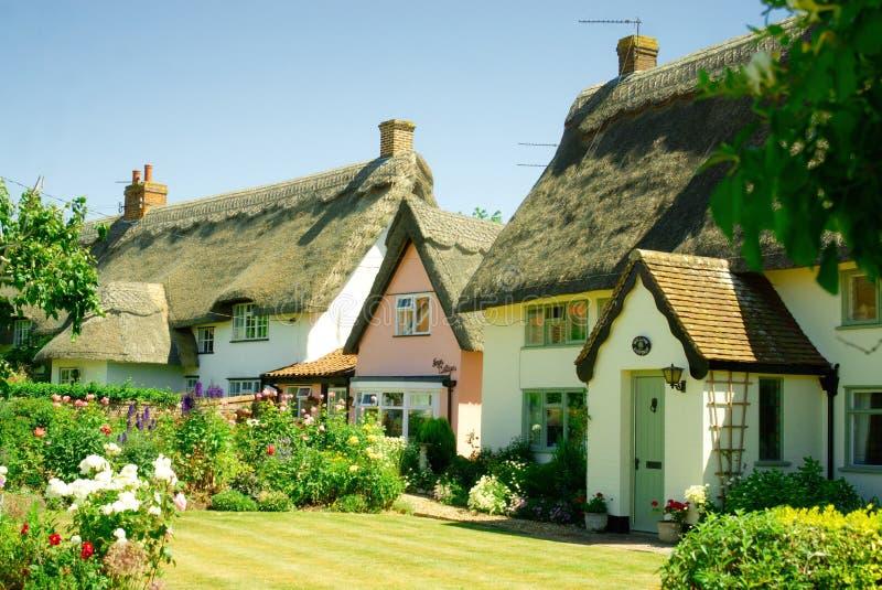 Όμορφος ιστορικός τα εξοχικά σπίτια στοκ εικόνα με δικαίωμα ελεύθερης χρήσης