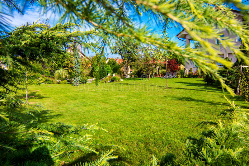 όμορφος κήπος στοκ φωτογραφίες με δικαίωμα ελεύθερης χρήσης
