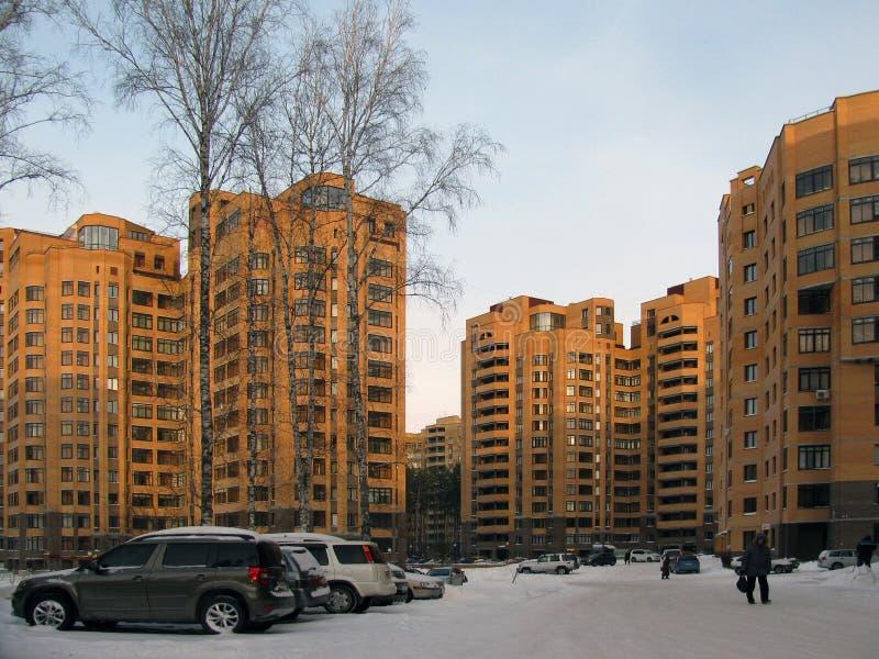 Όμορφος κατοικημένος σύνθετος στη Ρωσία στοκ φωτογραφία με δικαίωμα ελεύθερης χρήσης