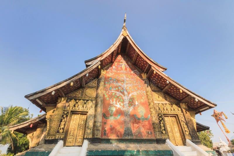 Όμορφος ναός λουριών Wat Xieng, κτύπημα Luang Pra, Λάος. στοκ φωτογραφία με δικαίωμα ελεύθερης χρήσης