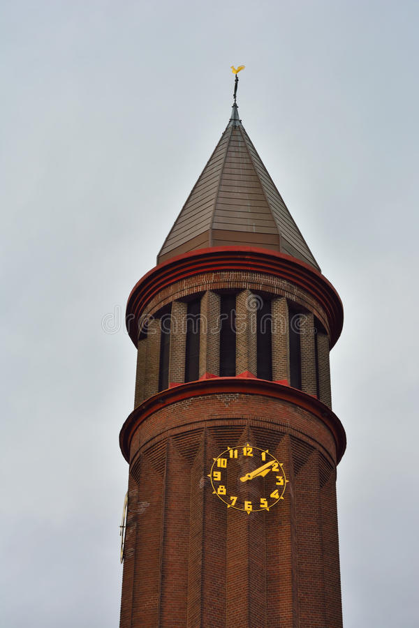 Όμορφος νηφάλιος προτεσταντικός πύργος στοκ εικόνες με δικαίωμα ελεύθερης χρήσης