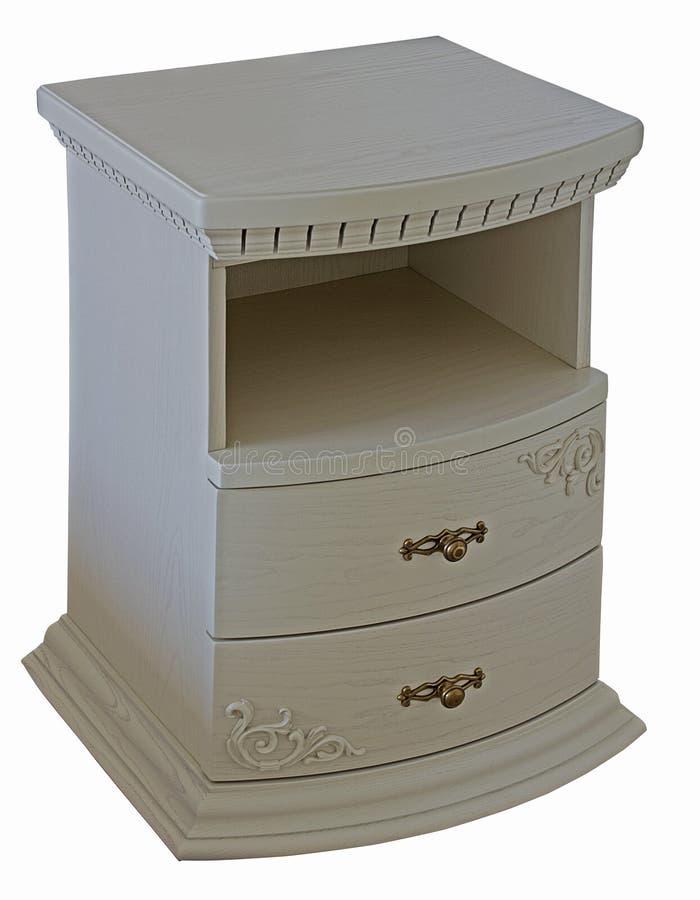 Όμορφος ξύλινος άσπρος πίνακας πλευρών στοκ φωτογραφία με δικαίωμα ελεύθερης χρήσης