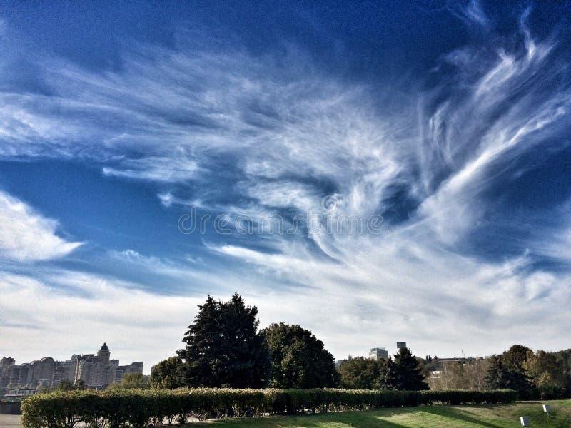 Όμορφος ουρανός στοκ εικόνες με δικαίωμα ελεύθερης χρήσης