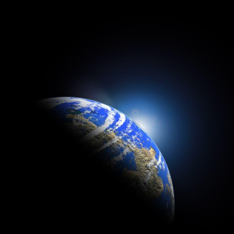 όμορφος πλανήτης απεικόνιση αποθεμάτων