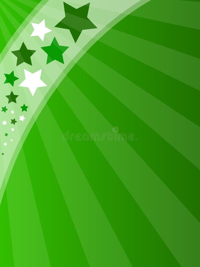 όμορφος πράσινος ανασκόπησης ελεύθερη απεικόνιση δικαιώματος