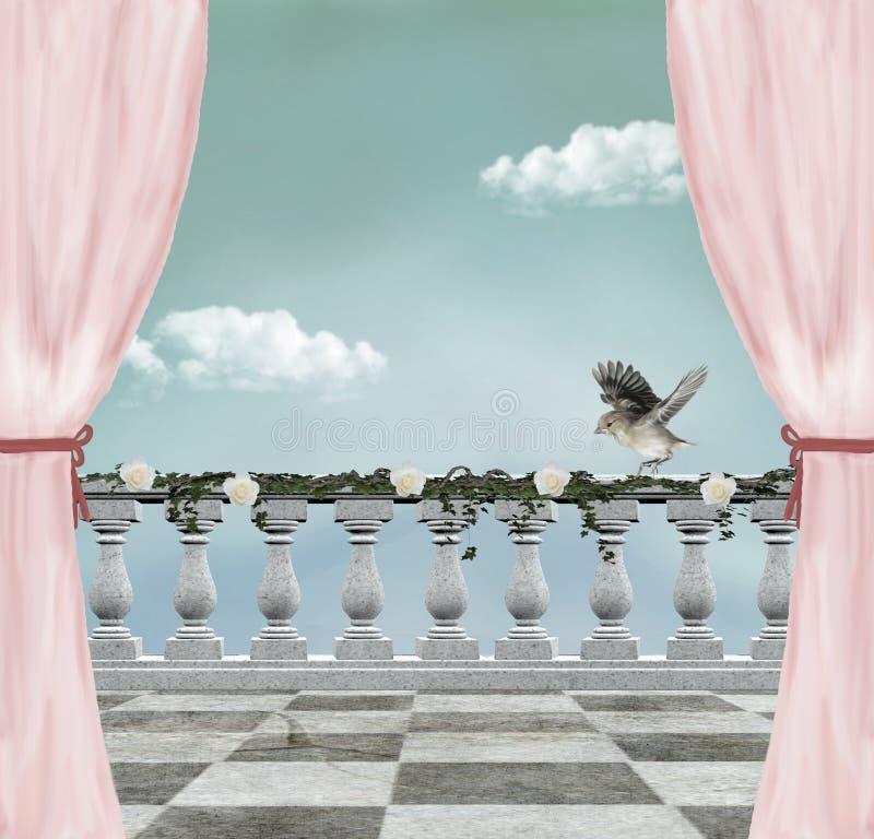 όμορφος ρομαντικός ανασ&kappa ελεύθερη απεικόνιση δικαιώματος