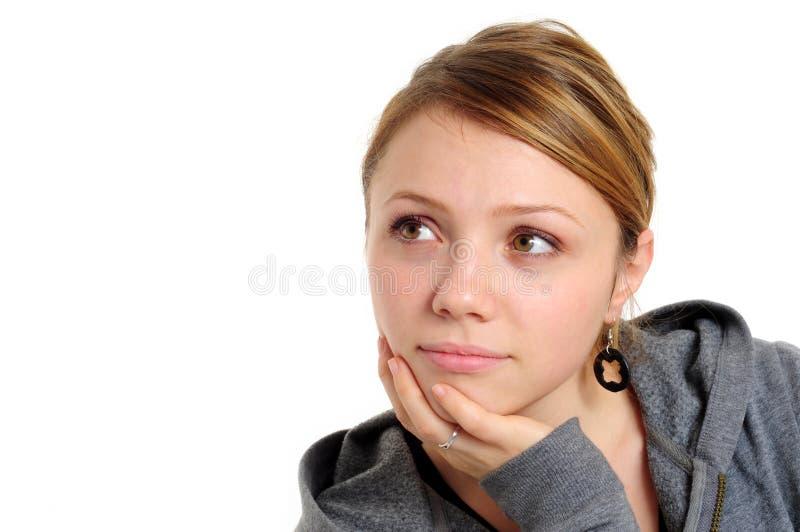 όμορφος σπουδαστής κορ&i στοκ εικόνα