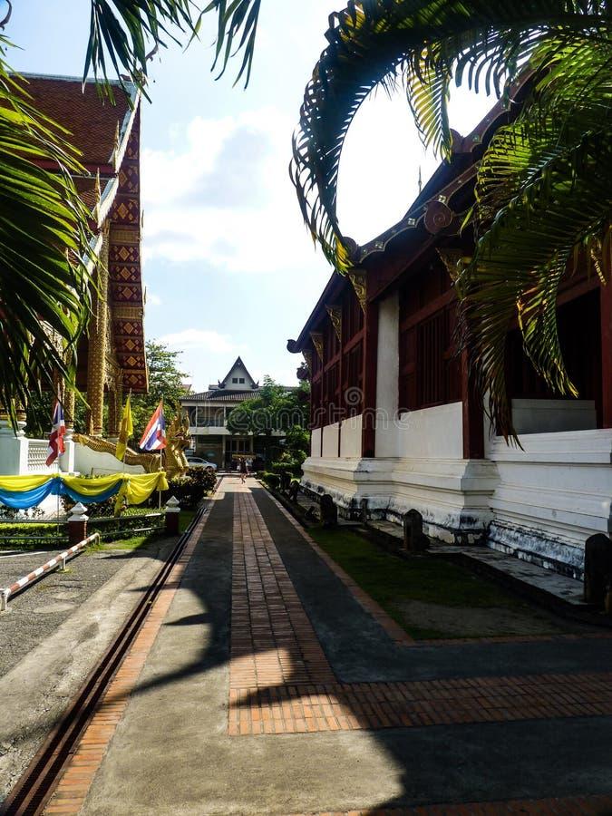 Όμορφος τρόπος ζωής Ταϊλάνδη ελευθερίας θρησκείας ναών στοκ εικόνες