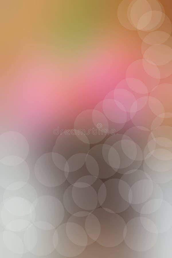 Όμορφος των ροδαλών τεχνητών λουλουδιών απεικόνιση αποθεμάτων