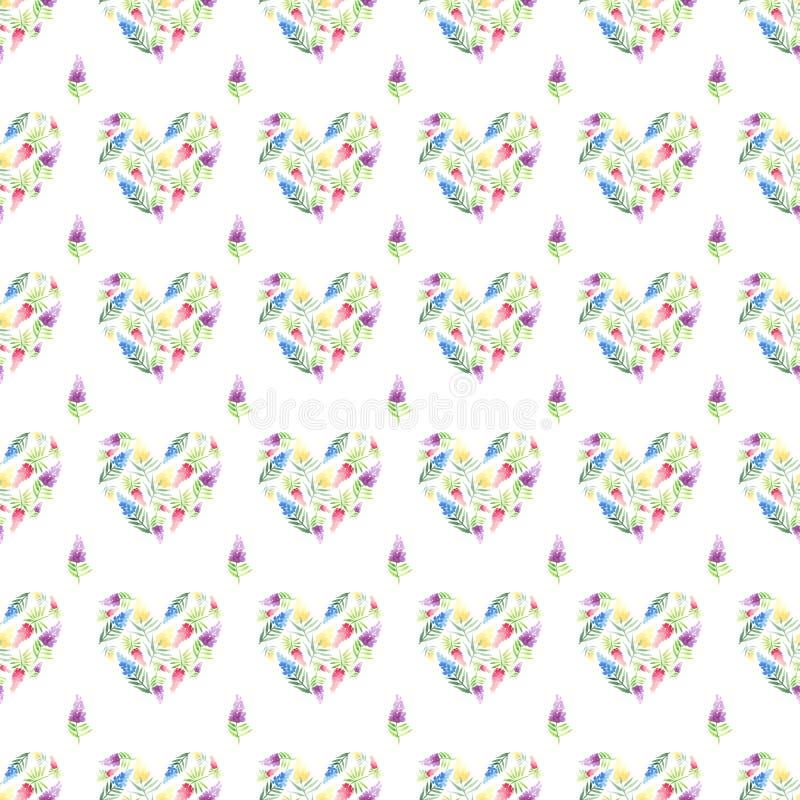 Όμορφος φωτεινός τρυφερός ευγενής περίπλοκος floral βοτανικός βοτανικός μπεζ κωνιώδης ρόδινος peony άνοιξη κρητιδογραφιών με το π διανυσματική απεικόνιση