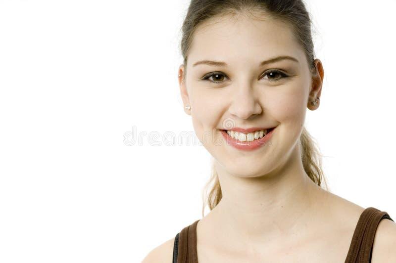 Όμορφος χαμογελώντας έφηβος στοκ φωτογραφία με δικαίωμα ελεύθερης χρήσης