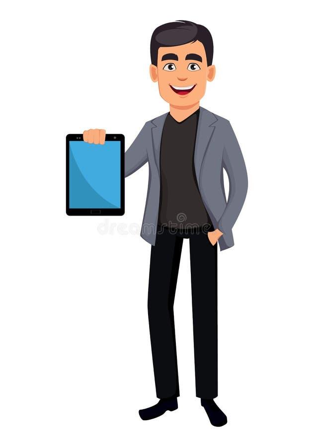 Όμορφος χαρακτήρας κινουμένων σχεδίων επιχειρησιακών ατόμων απεικόνιση αποθεμάτων