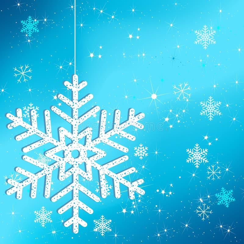 όμορφος χειμώνας ανασκόπη& απεικόνιση αποθεμάτων