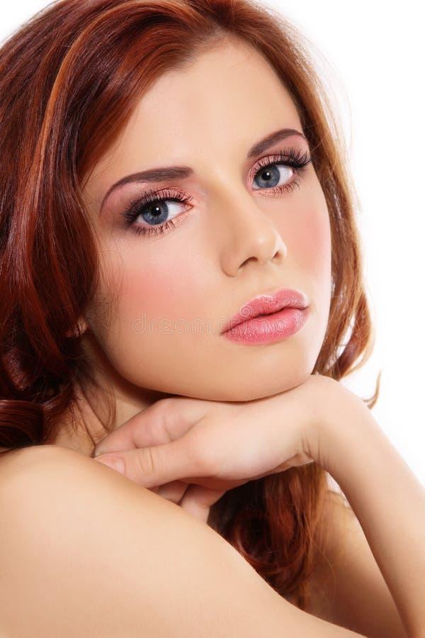 όμορφος redhead στοκ φωτογραφία