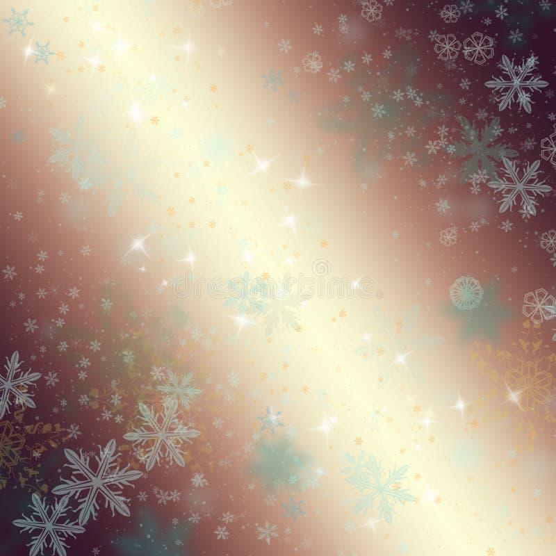 όμορφος snowflakes ανασκόπησης χε απεικόνιση αποθεμάτων