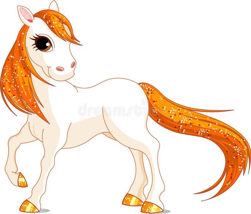 όμορφο άλογο διανυσματική απεικόνιση