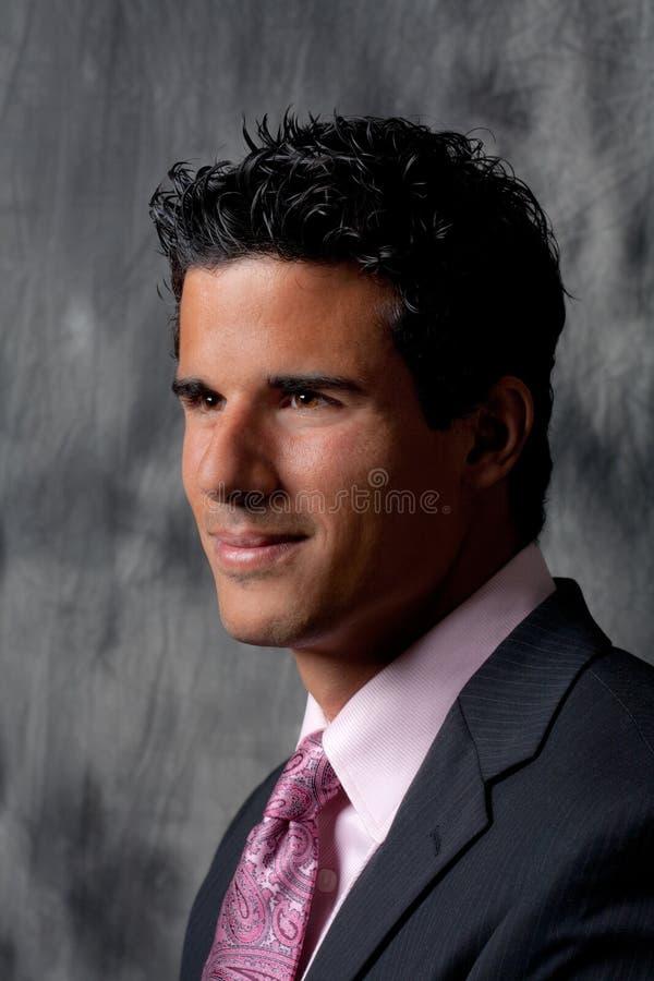 Όμορφο άτομο στο κοστούμι και το δεσμό στοκ φωτογραφίες με δικαίωμα ελεύθερης χρήσης