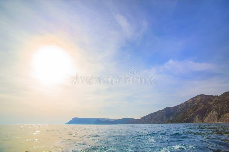 Όμορφο ακρωτήριο στη θάλασσα στοκ φωτογραφίες