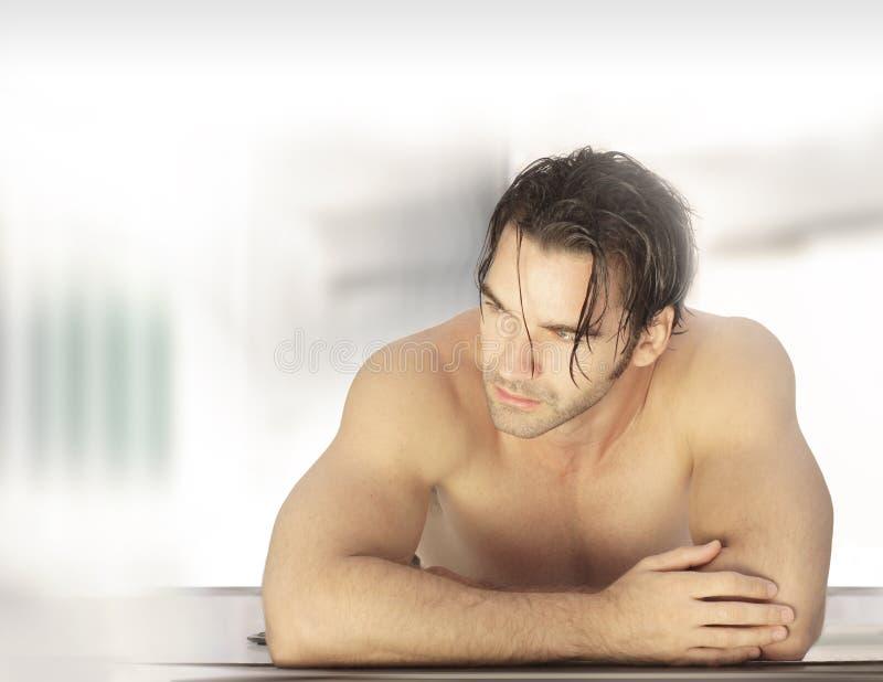 Αρσενικό στη SPA στοκ φωτογραφίες με δικαίωμα ελεύθερης χρήσης