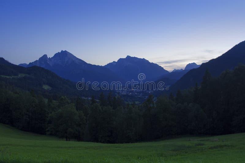 όμορφο βουνό τοπίων στοκ εικόνα με δικαίωμα ελεύθερης χρήσης