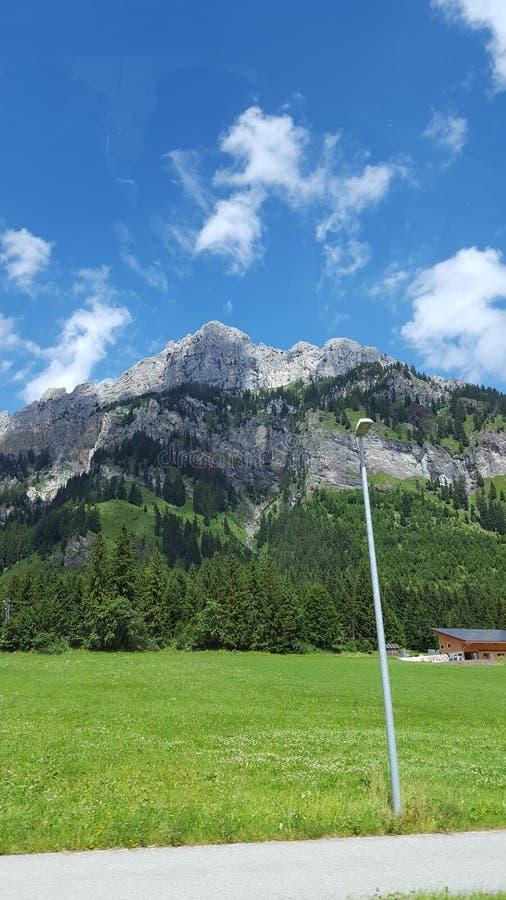 Όμορφο βουνό στοκ εικόνες