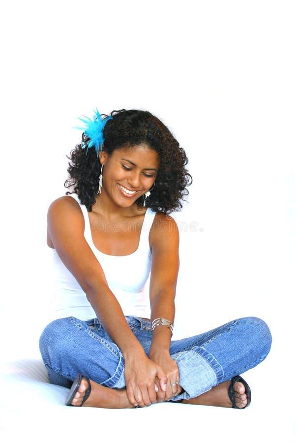 όμορφο βραζιλιάνο κορίτσι στοκ φωτογραφία με δικαίωμα ελεύθερης χρήσης