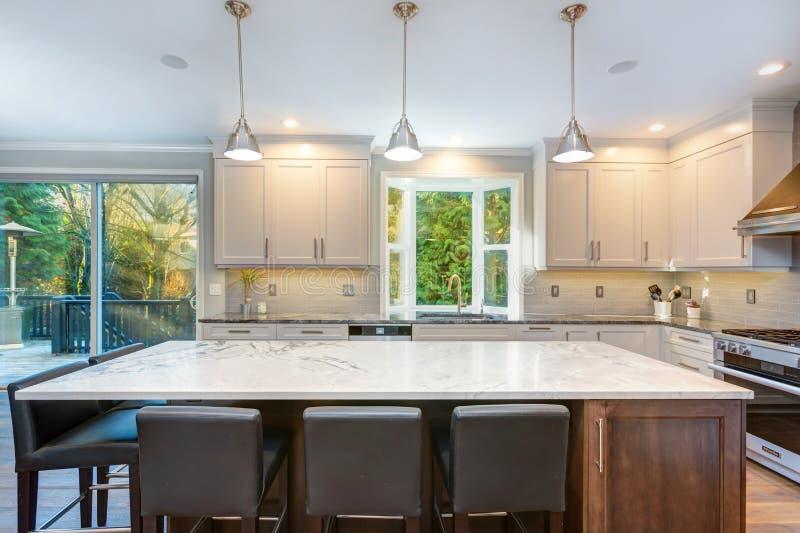 Όμορφο γραπτό σχέδιο κουζινών στοκ φωτογραφία με δικαίωμα ελεύθερης χρήσης