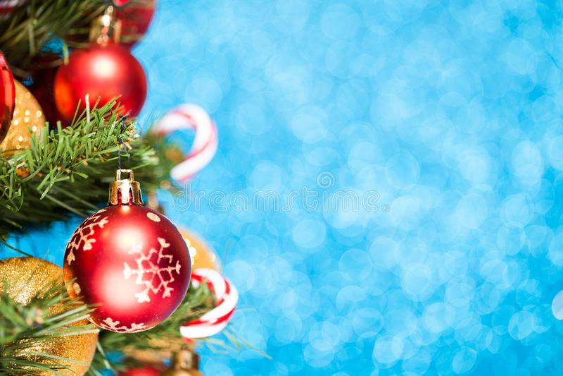 όμορφο διάνυσμα δέντρων απεικόνισης Χριστουγέννων ανασκόπησης στοκ εικόνες με δικαίωμα ελεύθερης χρήσης