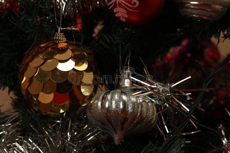 όμορφο διάνυσμα δέντρων απεικόνισης Χριστουγέννων ανασκόπησης στοκ φωτογραφίες με δικαίωμα ελεύθερης χρήσης