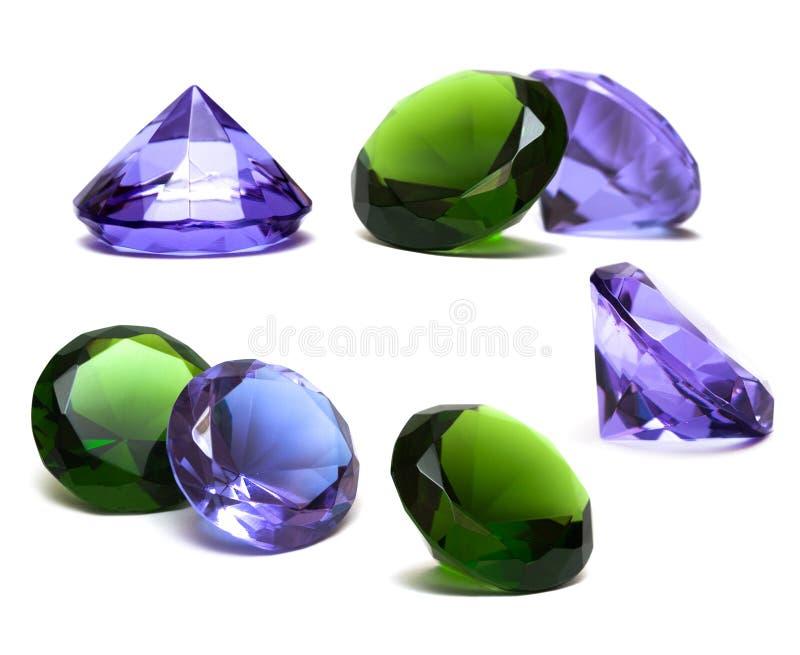 όμορφο διαμάντι κρυστάλλ&omic στοκ φωτογραφίες
