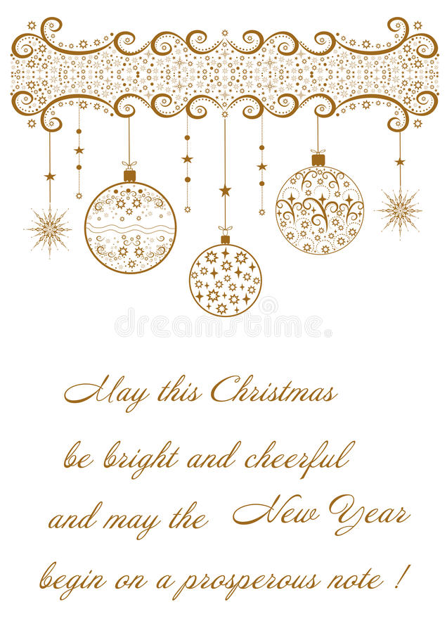 Όμορφο εορταστικό υπόβαθρο σε σχέση με τη Χαρούμενα Χριστούγεννα διακοπών απεικόνιση αποθεμάτων