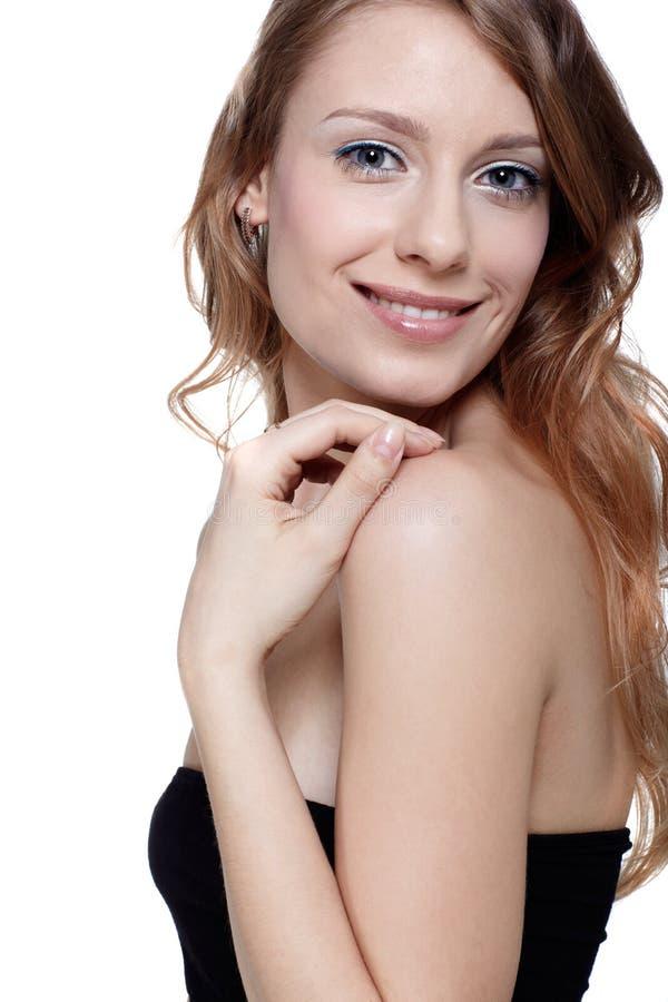 Όμορφο ευρωπαϊκό μοντέλο στοκ εικόνες