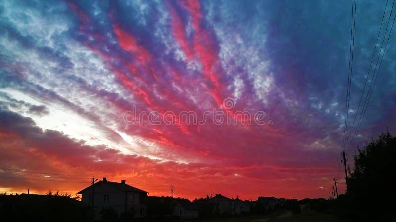 Όμορφο ηλιοβασίλεμα 2014 στοκ φωτογραφία με δικαίωμα ελεύθερης χρήσης