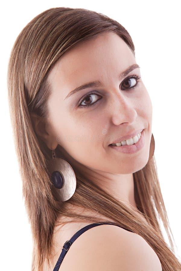 όμορφο θηλυκό πορτρέτο στοκ φωτογραφία με δικαίωμα ελεύθερης χρήσης