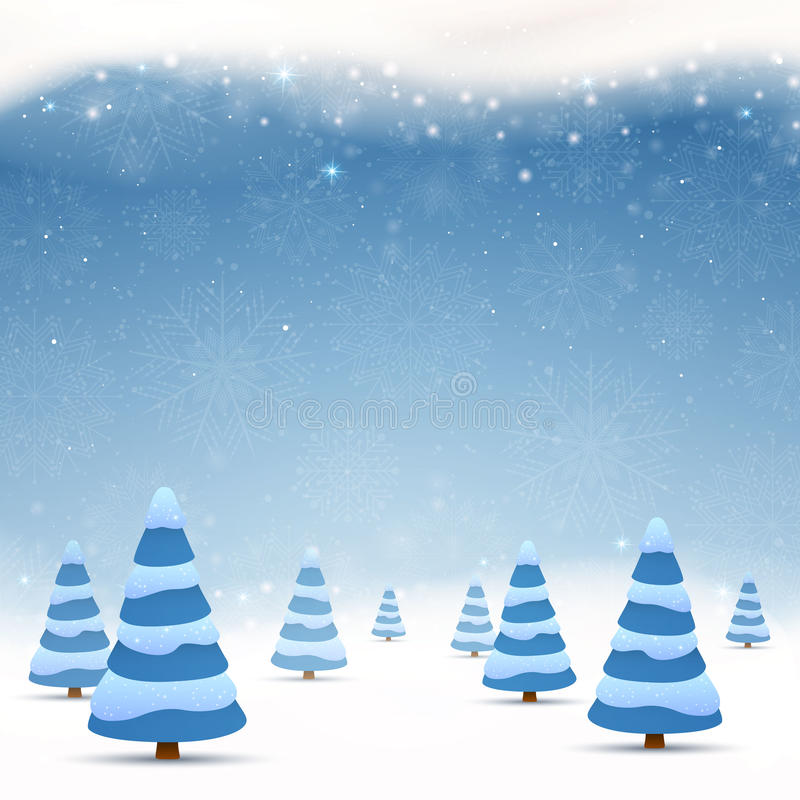 όμορφο διάνυσμα απεικόνισης σχεδίου Χριστουγέννων ελεύθερη απεικόνιση δικαιώματος