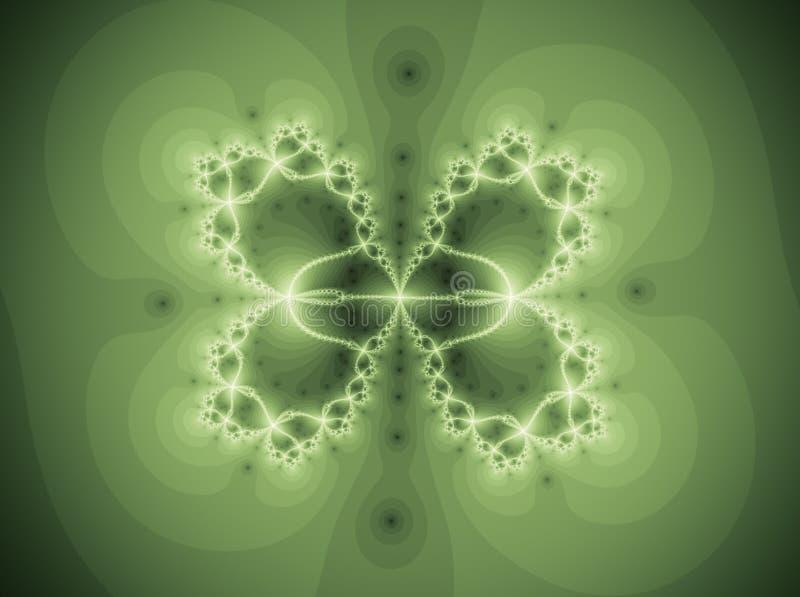 Όμορφο διαμορφωμένο πεταλούδα Fractal απεικόνιση αποθεμάτων