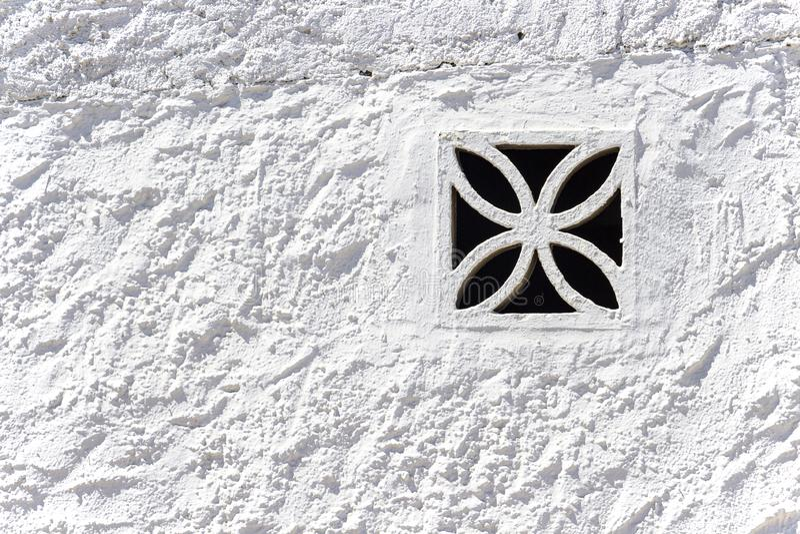 Όμορφο ισπανικό πλέγμα εξαερισμού στοκ φωτογραφία με δικαίωμα ελεύθερης χρήσης