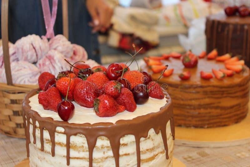όμορφο κέικ στοκ εικόνες