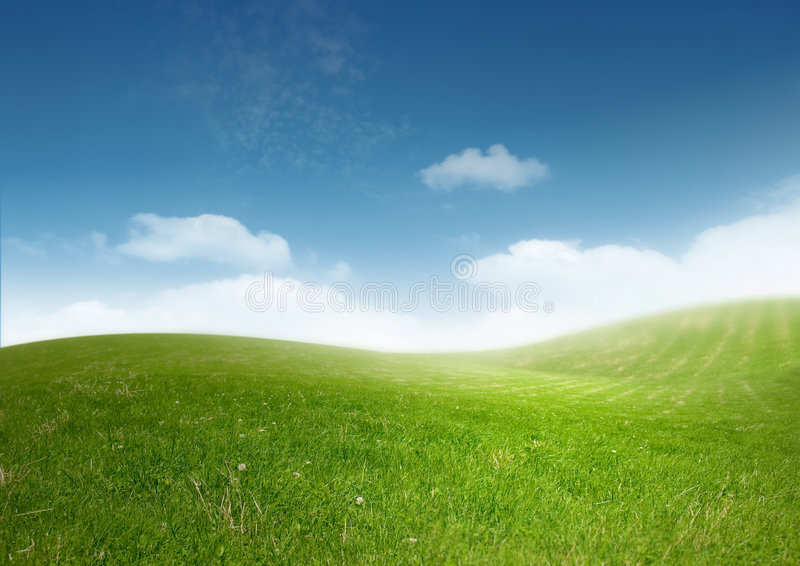 όμορφο καθαρό τοπίο στοκ εικόνες