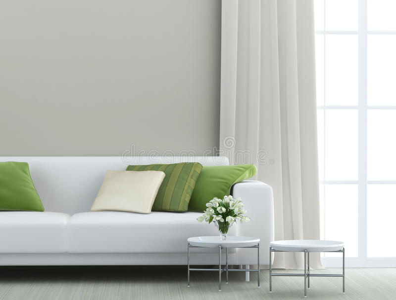 Όμορφο καθιστικό στοκ φωτογραφίες