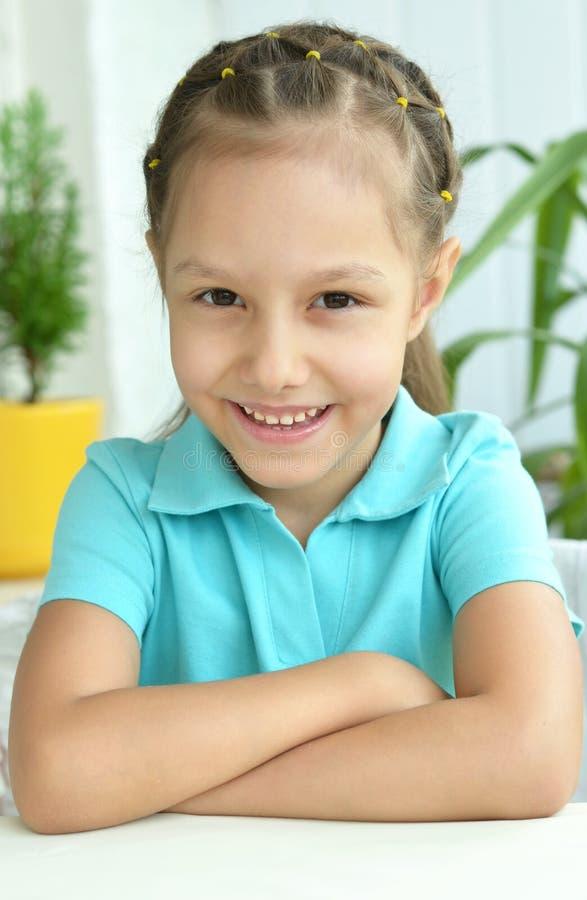 Download όμορφο κορίτσι λίγο πορτρέ στοκ εικόνες. εικόνα από αστείος - 62723628