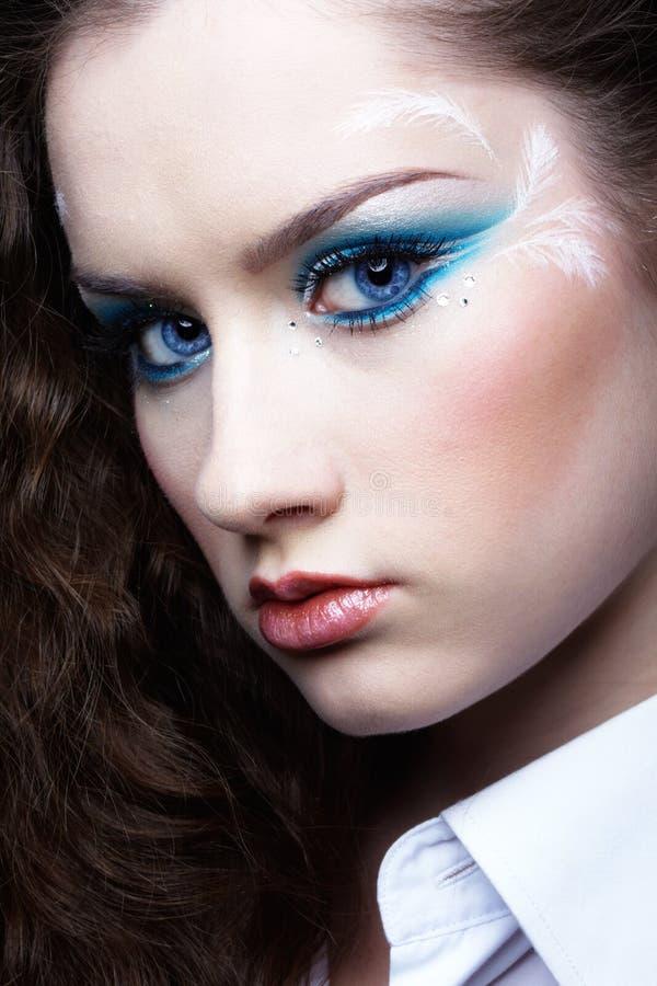 Download όμορφο κορίτσι στοκ εικόνα. εικόνα από hairstyle, καυκάσιος - 17050623