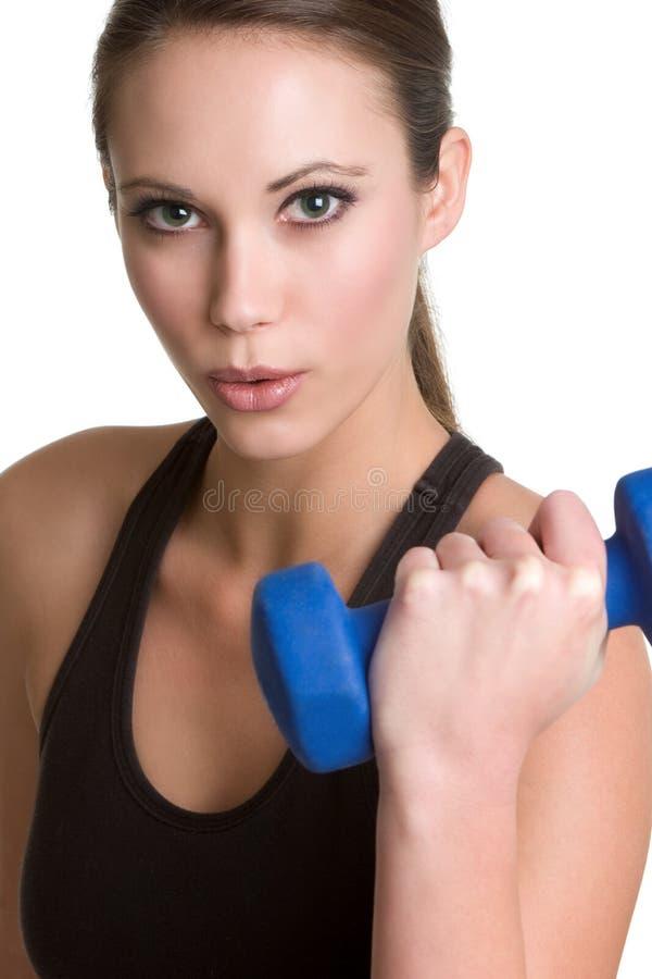όμορφο κορίτσι workout στοκ εικόνα με δικαίωμα ελεύθερης χρήσης
