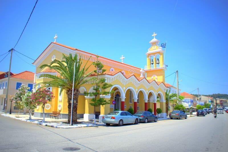 Όμορφο κτήριο εκκλησιών στοκ εικόνες