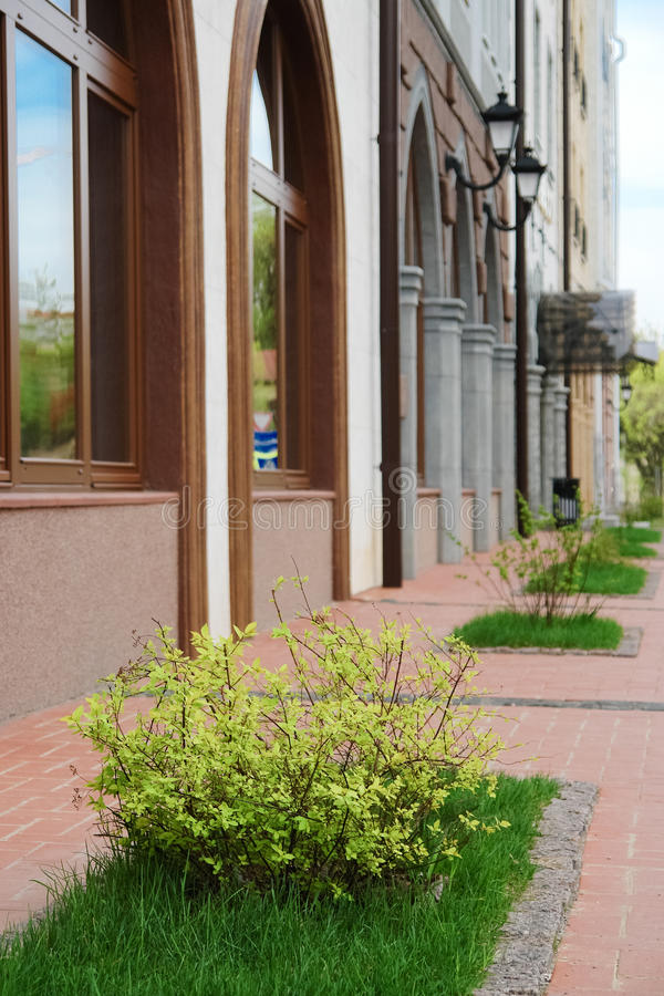 όμορφο κτήριο στο Ryazan, Ρωσία στοκ εικόνα