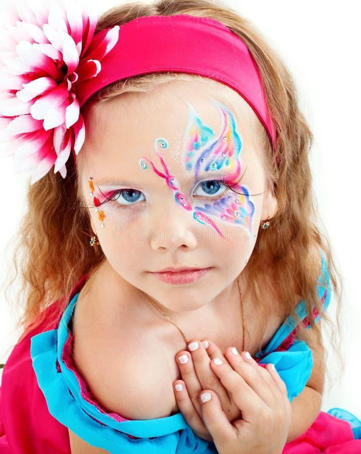 όμορφο κόκκινο κοριτσιών &ph στοκ φωτογραφίες