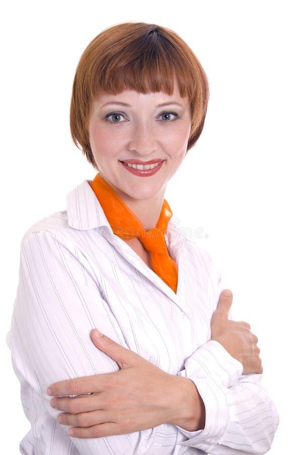 όμορφο λευκό κοριτσιών στοκ φωτογραφία με δικαίωμα ελεύθερης χρήσης